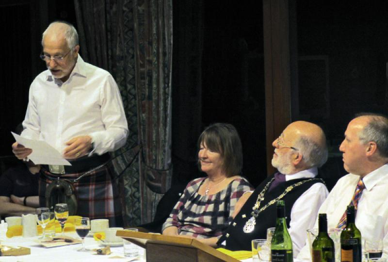Burns Supper - David Gillespie