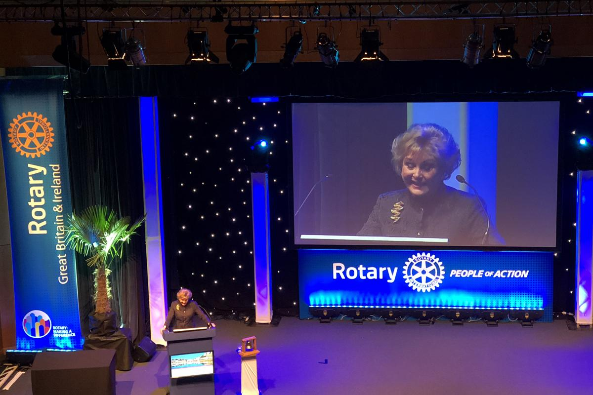 Rotary National Conference 2018 - Angela Rippon
