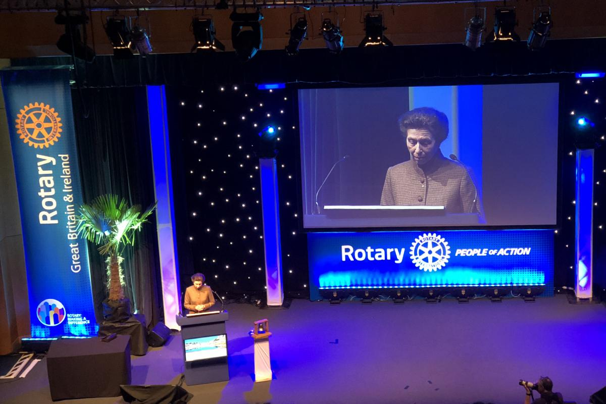 Rotary National Conference 2018 - The Princess Royal - Princess Anne