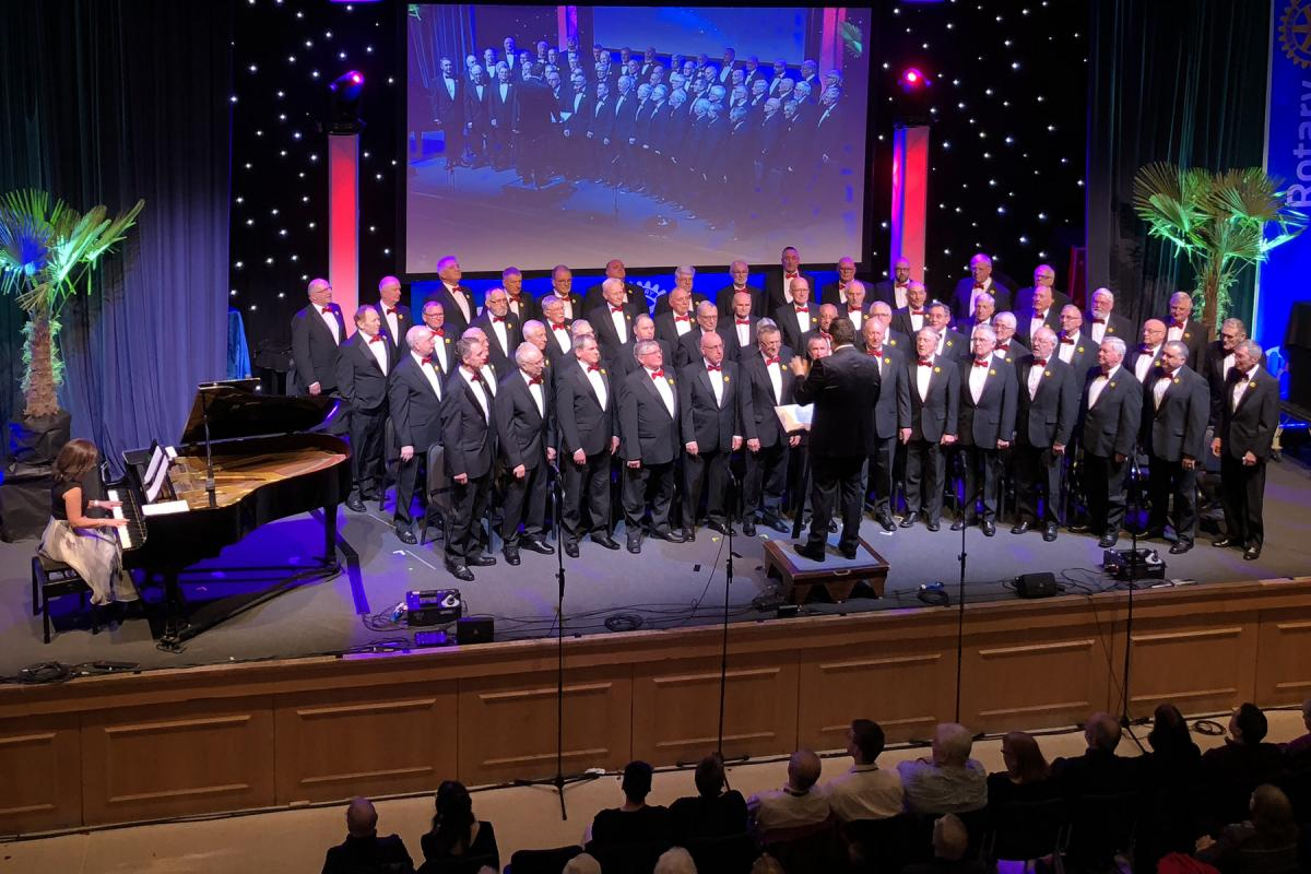 Rotary National Conference 2018 - Bridgend Male Choir
