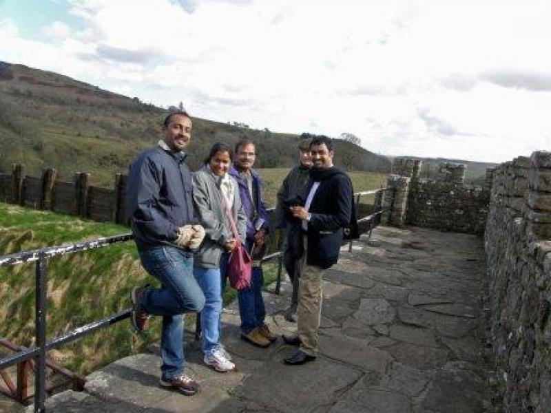 GSE Visit 2013 - Tour at Vindolanda 2