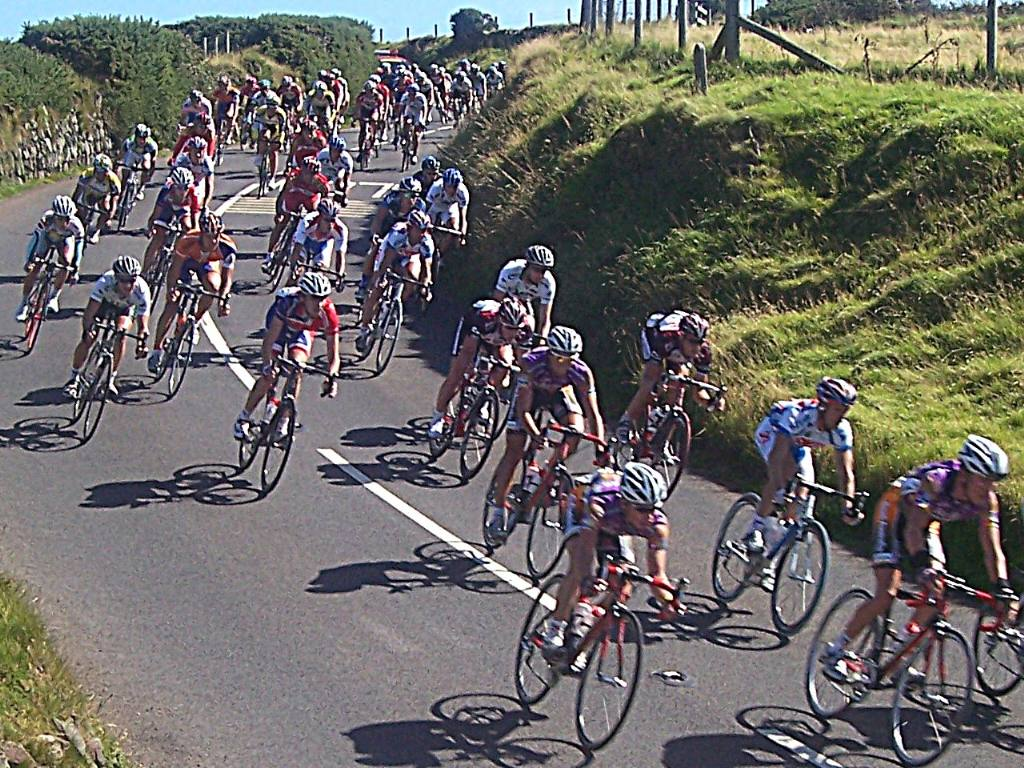 TOUR OF BRITAIN CYCLE RACE -