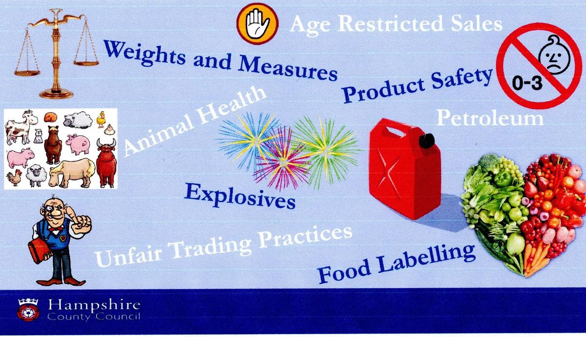 Talk by Julie Gallagher from Trading Standards -