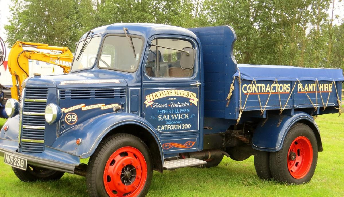 Leisure Lakes Steam and Vintage Vehicle Rally 2016 - Thomas Marquis 