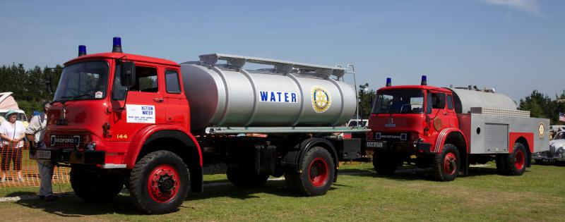 Wheels 2013 - Report and Slide Show - Two redundant Fire Tankers for Kosova