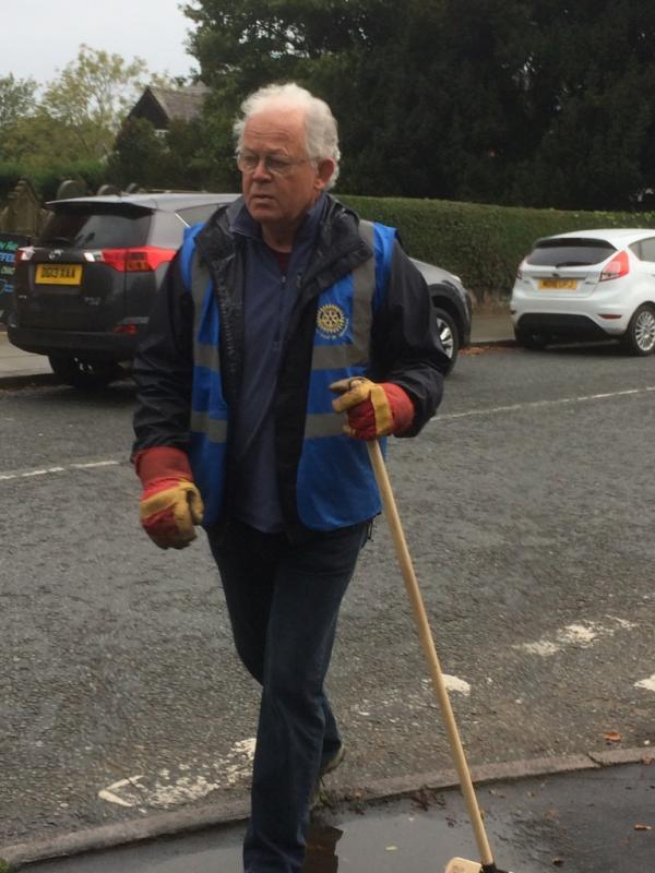Rotary,  Cleaning up Tarporley and Outlying Villages -
