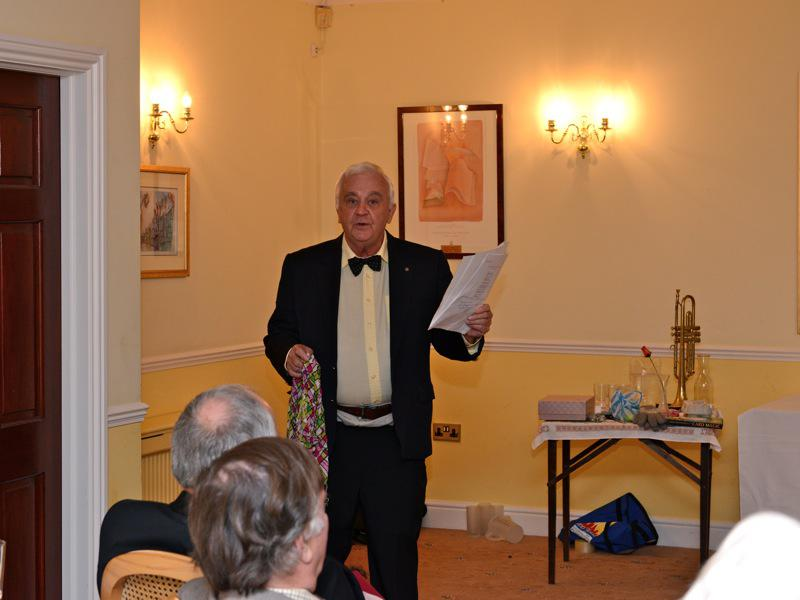 7pm for 7:30pm Dinner - Club Evening 'Victorian Parlour Frivolities – Chairman Kevin Vickers - VR3 2660