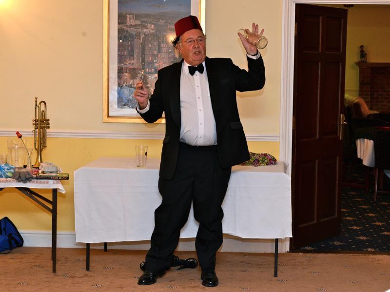 7pm for 7:30pm Dinner - Club Evening 'Victorian Parlour Frivolities – Chairman Kevin Vickers - VR3 2668