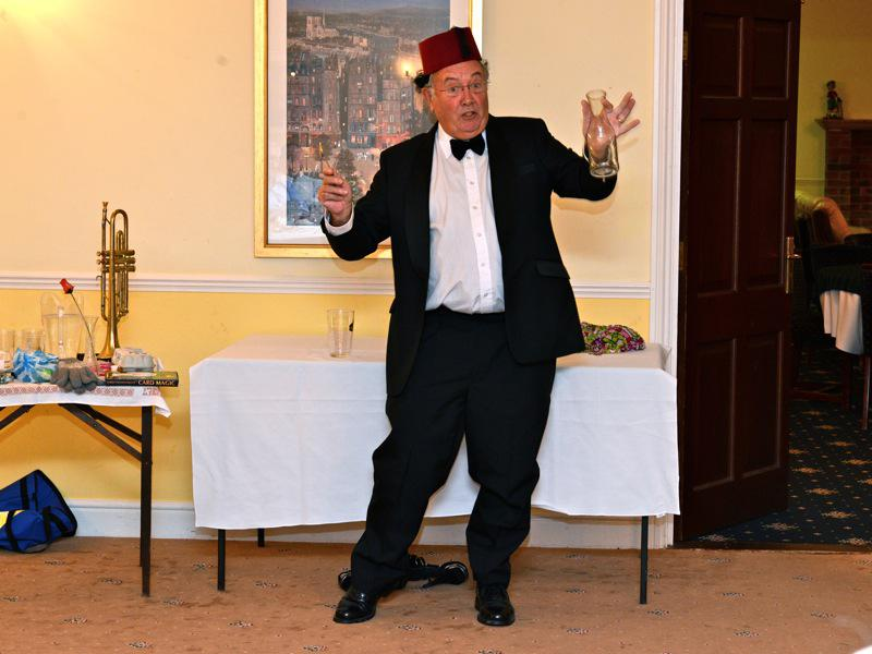 7pm for 7:30pm Dinner - Club Evening 'Victorian Parlour Frivolities – Chairman Kevin Vickers - VR3 2669