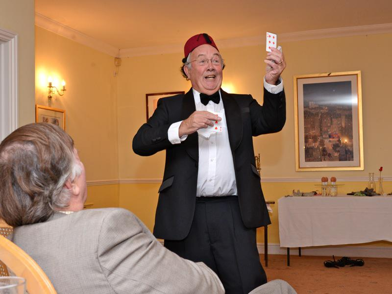 7pm for 7:30pm Dinner - Club Evening 'Victorian Parlour Frivolities – Chairman Kevin Vickers - VR3 2673