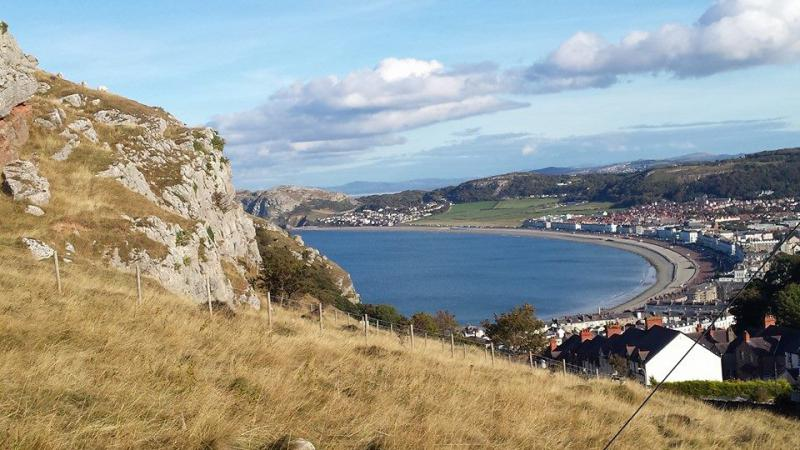 District 1210 Conference - View across Llandudno