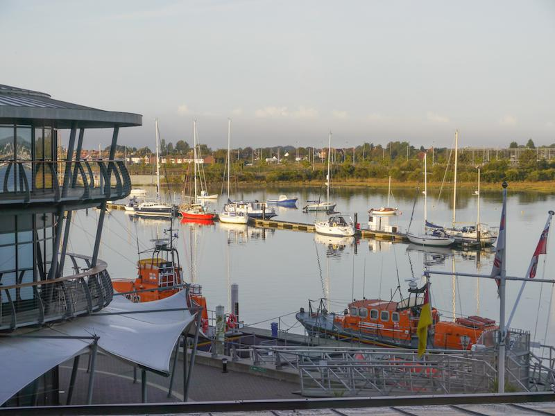 Presidents Weekend at RNLI Poole 3 - 5 October - View from RNLI