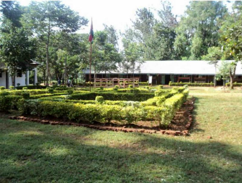 Provision of Information Technology to the St. Elizabeth Lureko Girls Secondary School in Mumias, Kenya - with its well maintained gardens