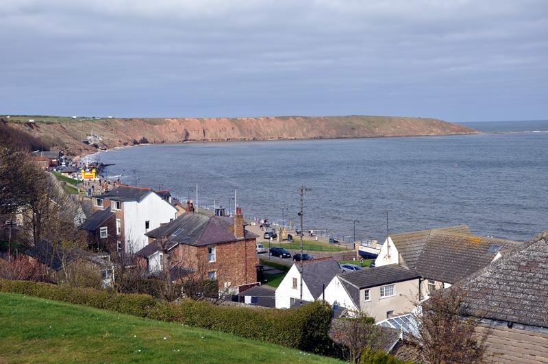 Mystery Weekend - View looking over Filey Brig