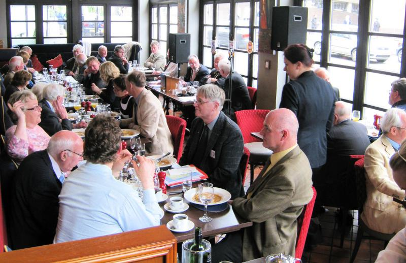 Club Fellowship - We welcomed members of the Selfoss, Iceland, Rotary Club to one of our regular lunchtime meetings.