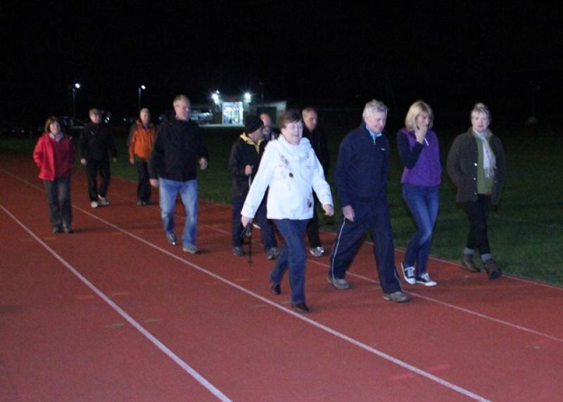 A Walk to End Polio  - As the clock crawled round to 8:00 pm David was joined by a growing throng of supporters ...