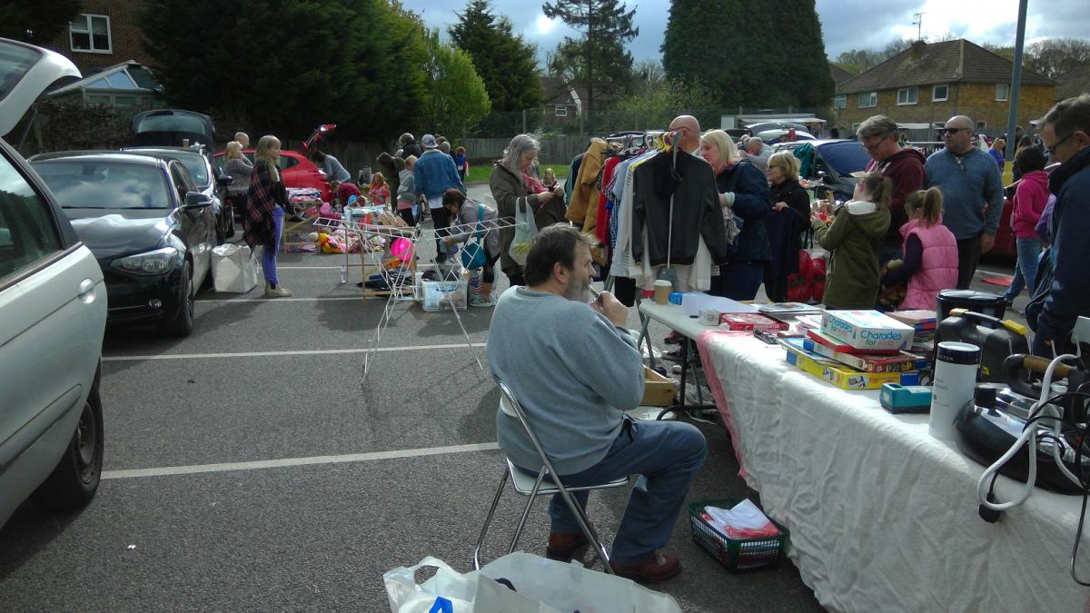 MAMMOTH CAR BOOT FAIR -