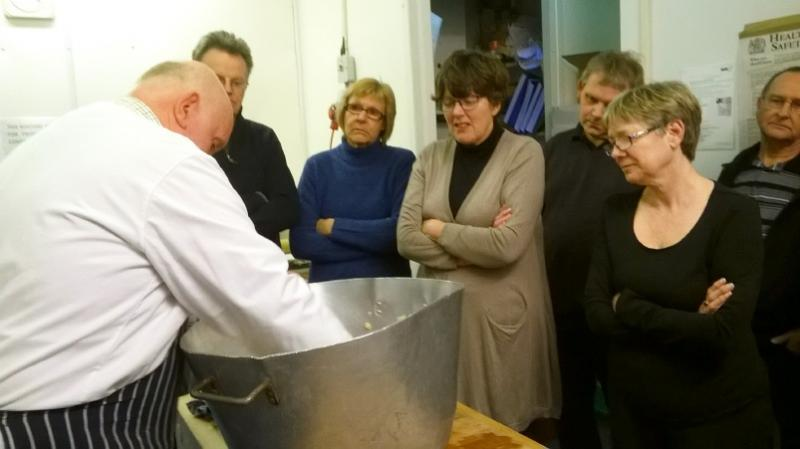 Visit to Alec Day's Butchers in Bourne on 31st March 2015 -