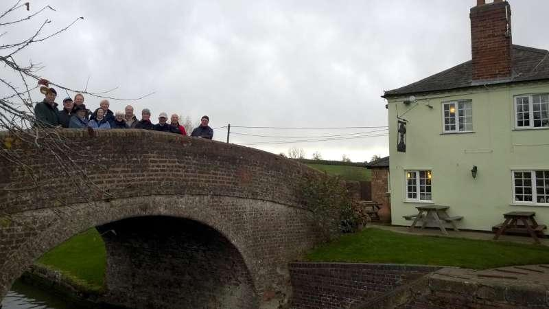 Rotary Walk from the Admiral Nelson in Braunston - but right at the start for a change