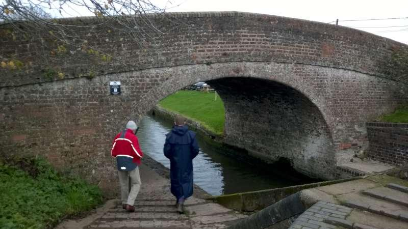 Rotary Walk from the Admiral Nelson in Braunston - ...as the usual route was blocked by vans