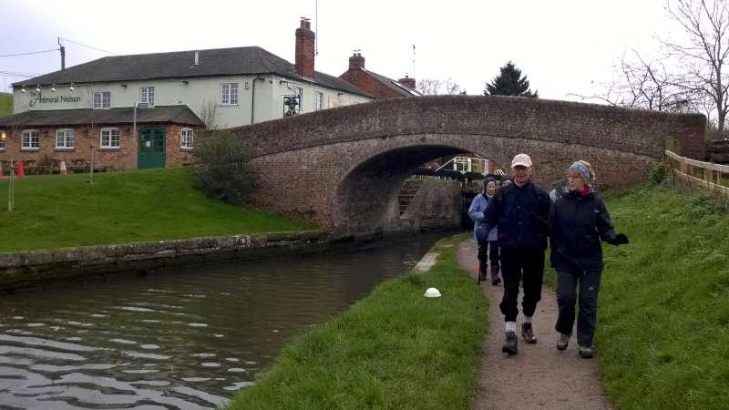 Rotary Walk from the Admiral Nelson in Braunston - and only 3.5 miles to go