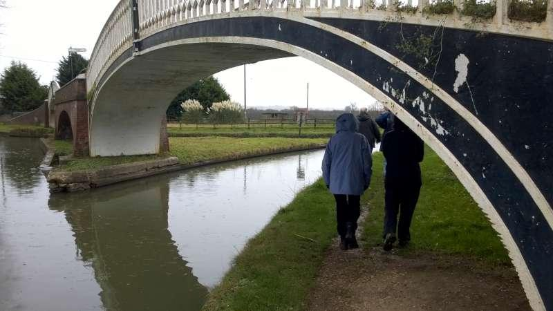 Rotary Walk from the Admiral Nelson in Braunston - for a short detour up the Oxford Canal