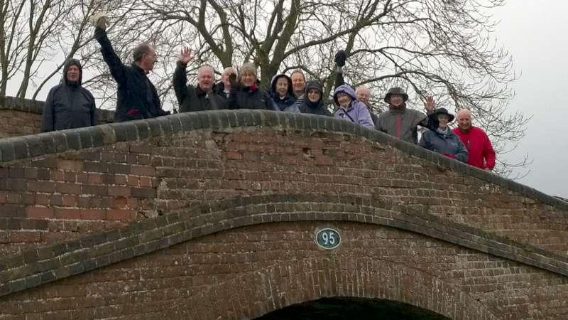 Rotary Walk from the Admiral Nelson in Braunston - ...so here it is, without Peter's leaf this time