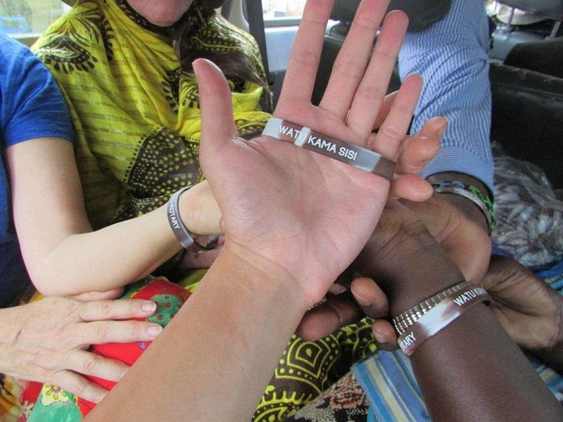 Rotary helps Albinos in Tanzania - WRIST BAND