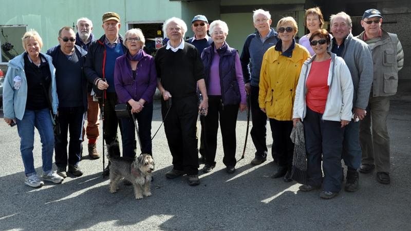 Afternoon Tea Walk for End Polio Now - Walking group