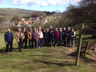Welcome, Come and join us. - Walking from Grosmont to Goathland