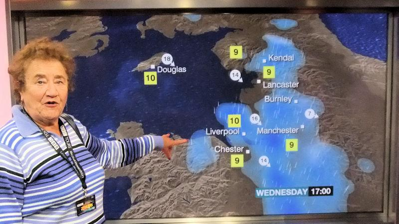 Our Social Activities - Our very own Weathergirl!