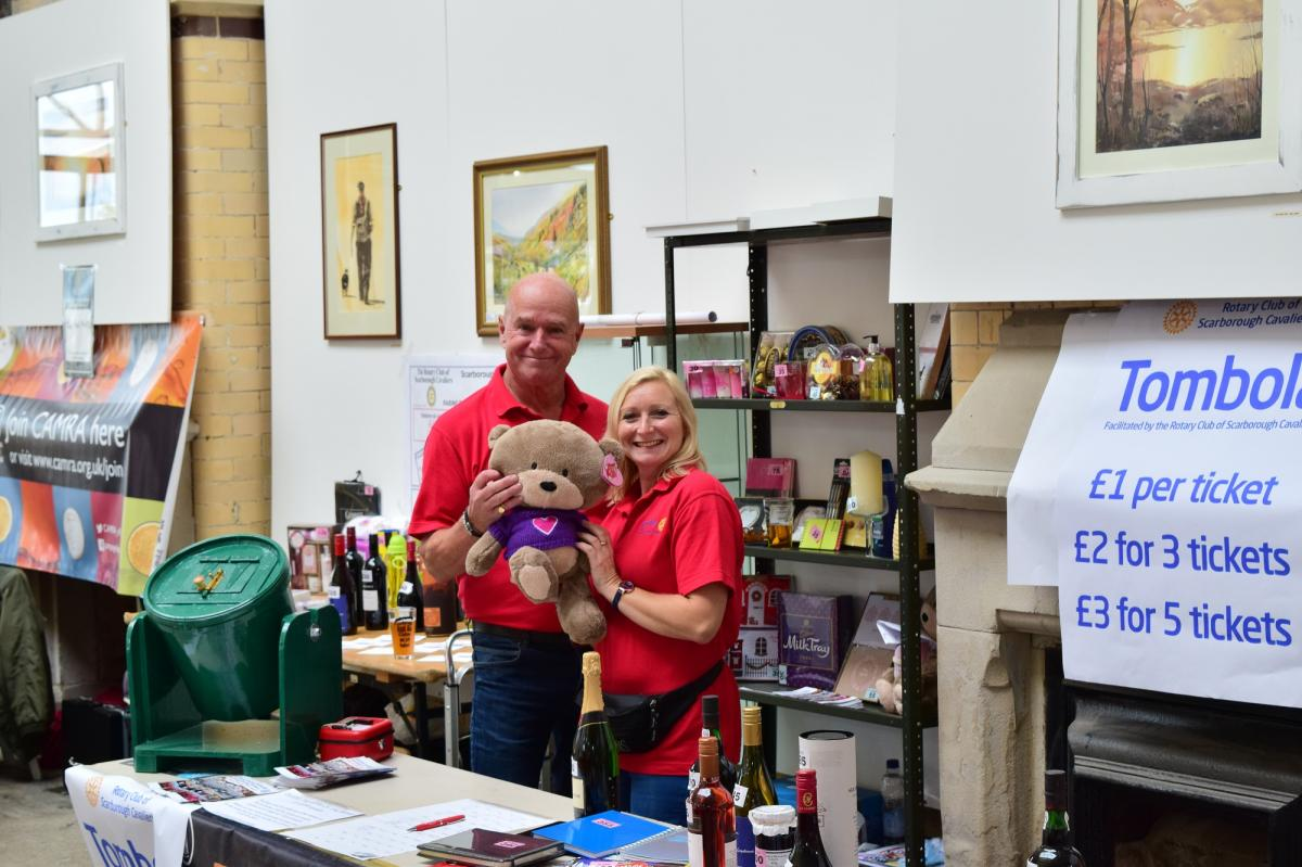 Fund raising with CAMRA - What was the teddy called
