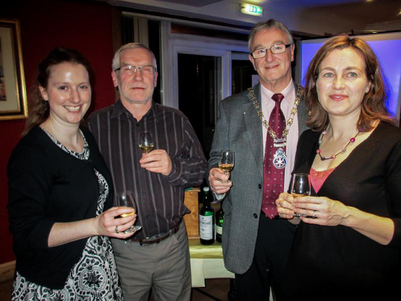 Some recent guests - Whisky tasting