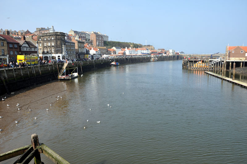 Whitby Weekend - Whitby harbour view