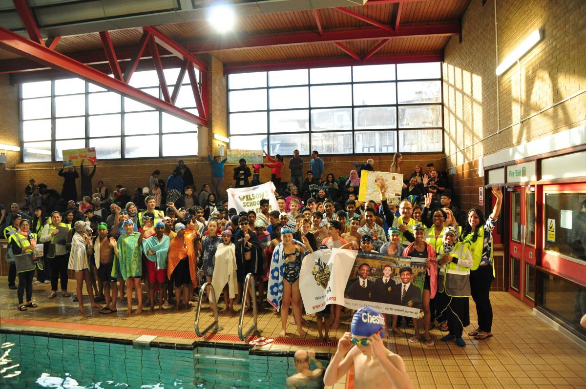 Purley Swimathon 2018 - Pictures - Wilson's Grammar Boys & Siblings.