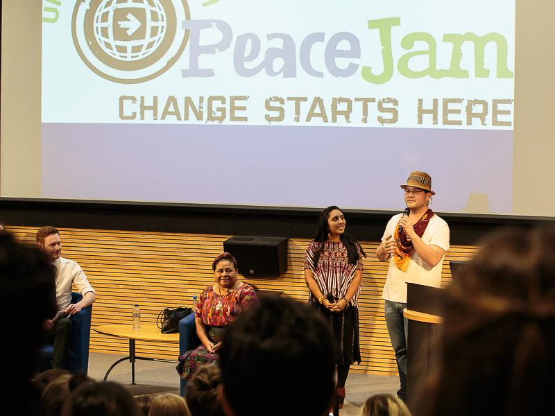 PeaceJam 2016 UK Conference - and takes centre stage