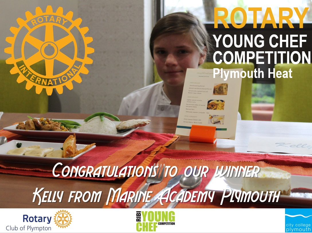 Young Chef - Plymouth Area heat 2016 - Winner 1a