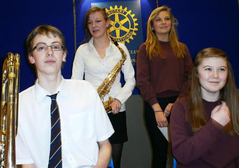 2013 Banchory Young Musician - Winners (Small)