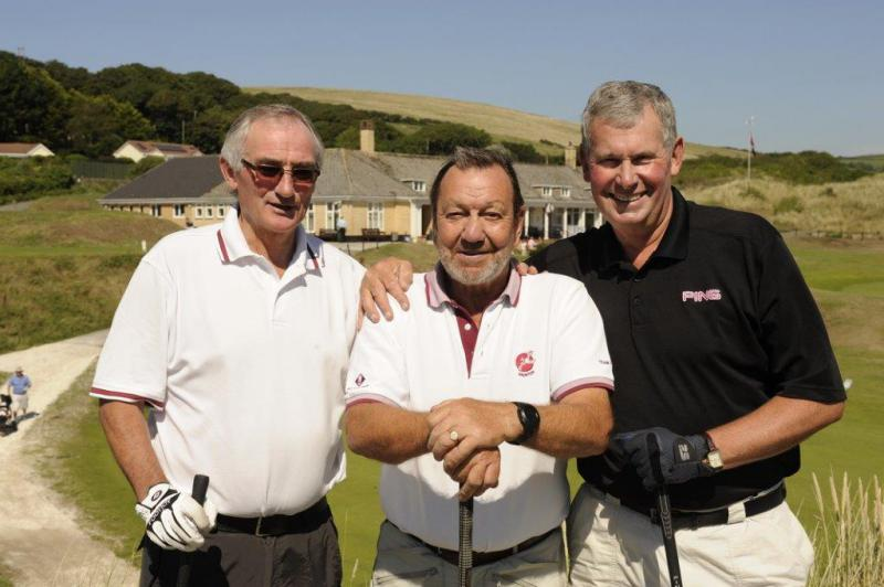 CHARITY GOLF DAY AUGUST 2013 - Winning Team - Mike Gover, Roger Stone, Barry Braunton