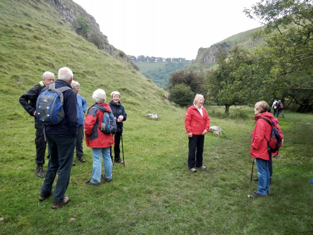 Derbyshire 2016 - A gentle walk down Wolfscotedale on Saturday afternoon in the only few spots of rain on the whole trip before..