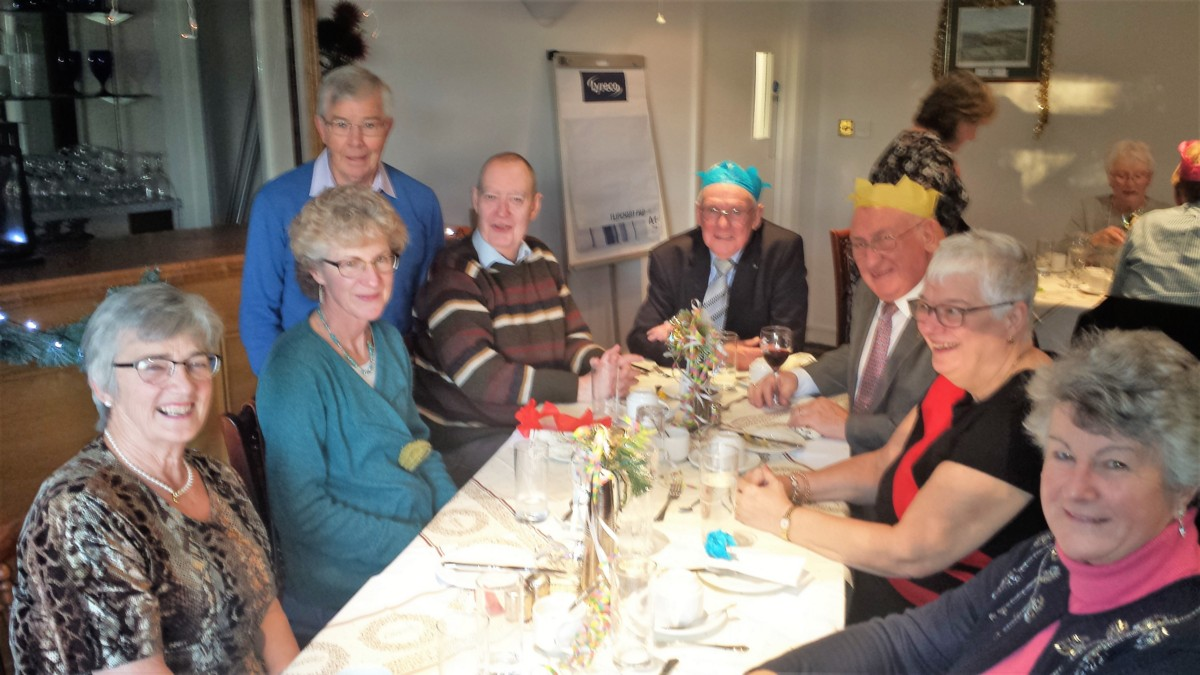 Christmas Lunch at the Golf Club 10 December 13.00 for 13.30 - Xmas 2017 1