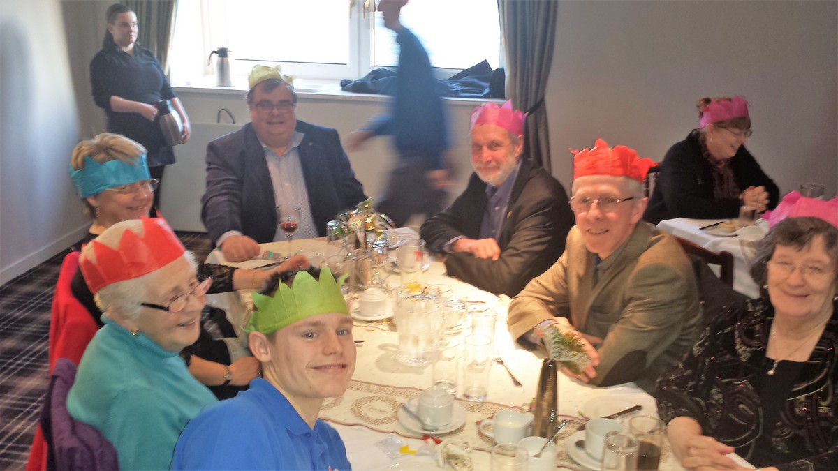 Christmas Lunch at the Golf Club 10 December 13.00 for 13.30 - Xmas 2017 4