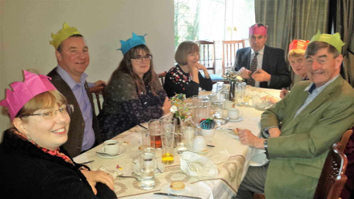 Christmas Lunch at the Golf Club 10 December 13.00 for 13.30 - Xmas 2017 6