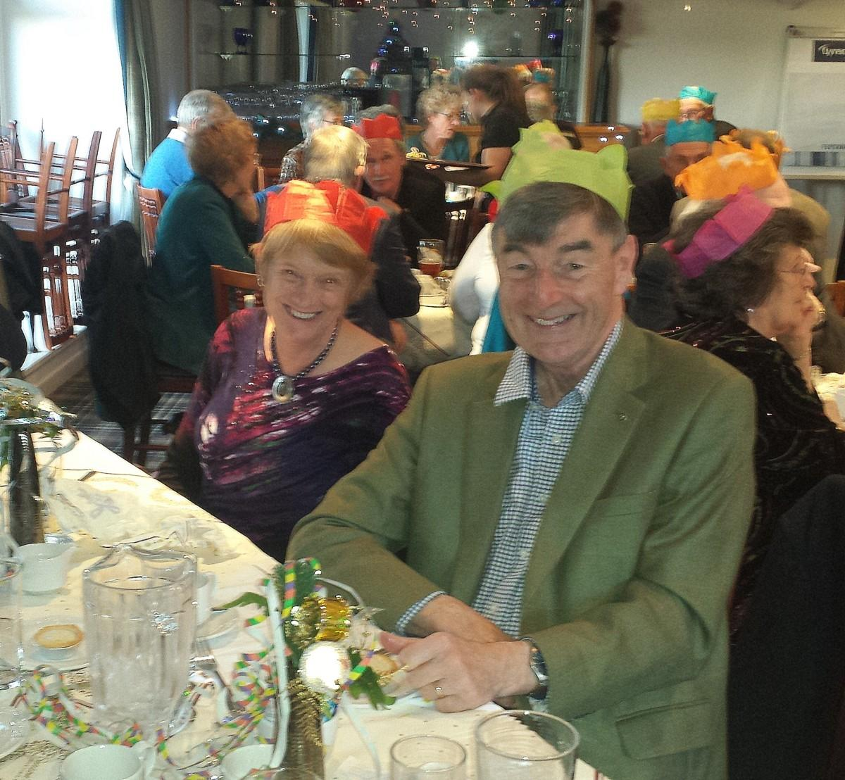 Christmas Lunch at the Golf Club 10 December 13.00 for 13.30 - Xmas 2017 7