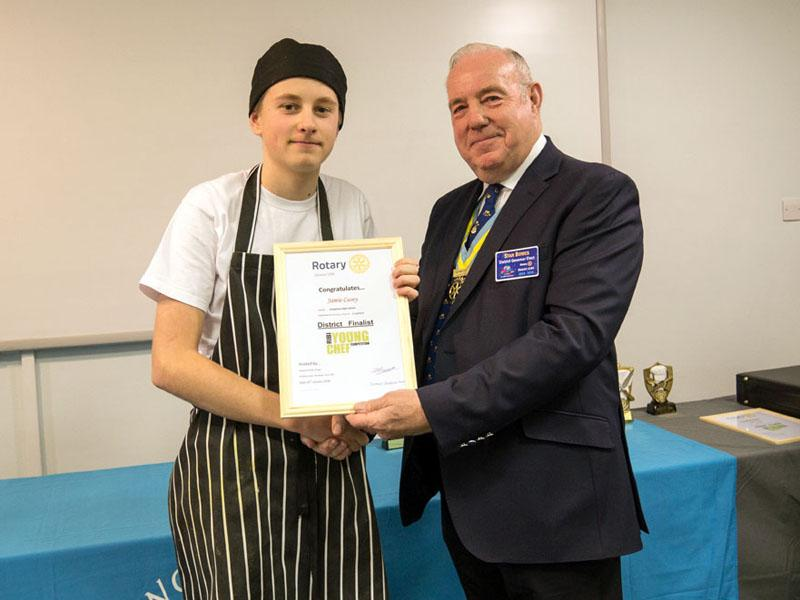 Young Chef  Competition for 2018 /19 -