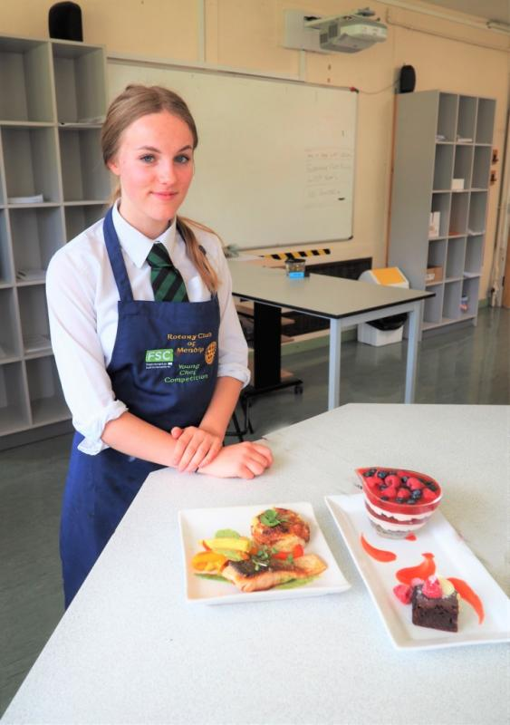 Young Chef - The winning entry.