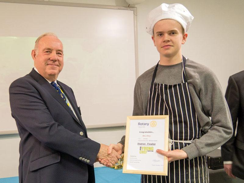 Young Chef  Competition for 2018 /19 - YC6