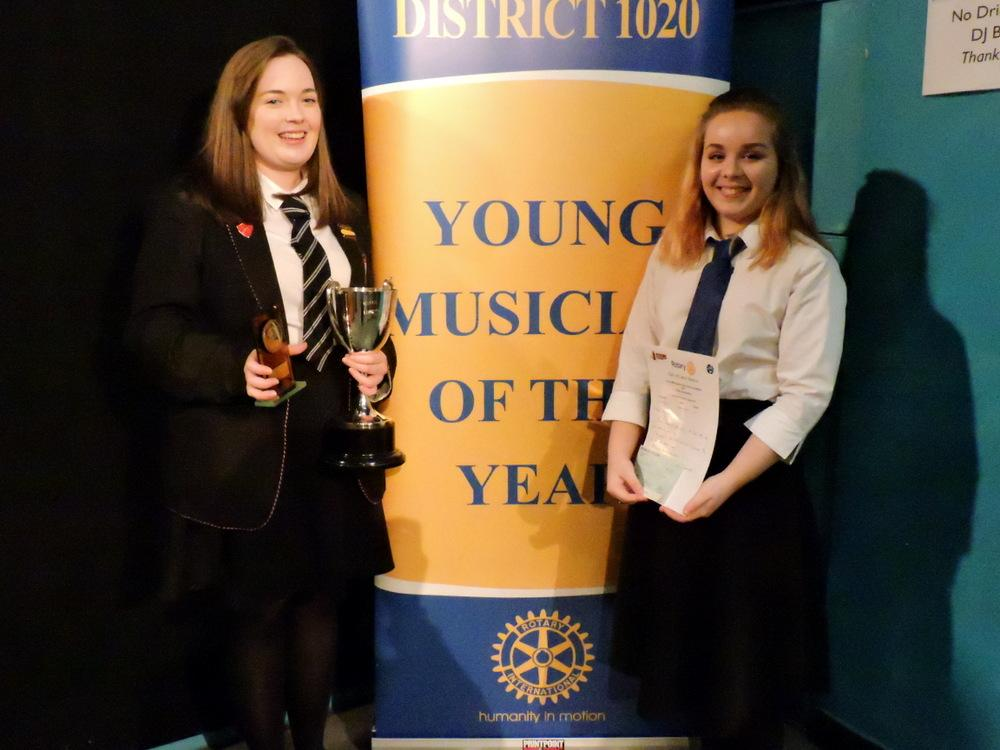 Rotary's Young Musician Competition 2017 - Winners of the vocal section