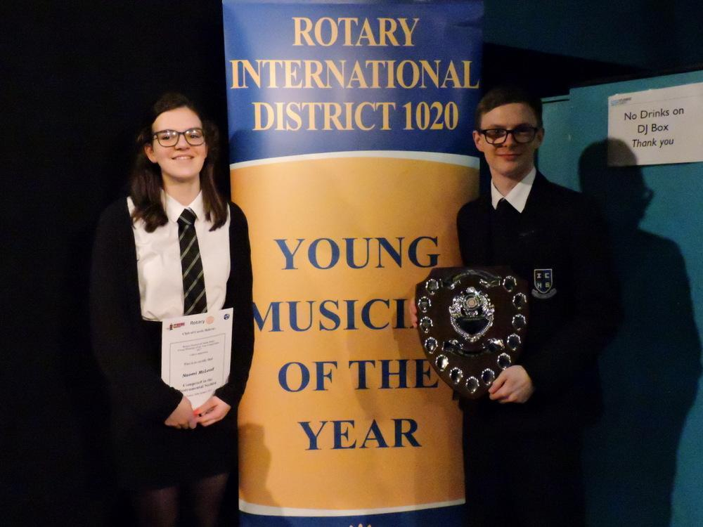 Rotary's Young Musician Competition 2017 - Winners of the instrumental Section