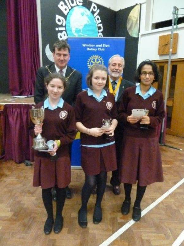 Youths Speaks Competition  - YS Senior Winners